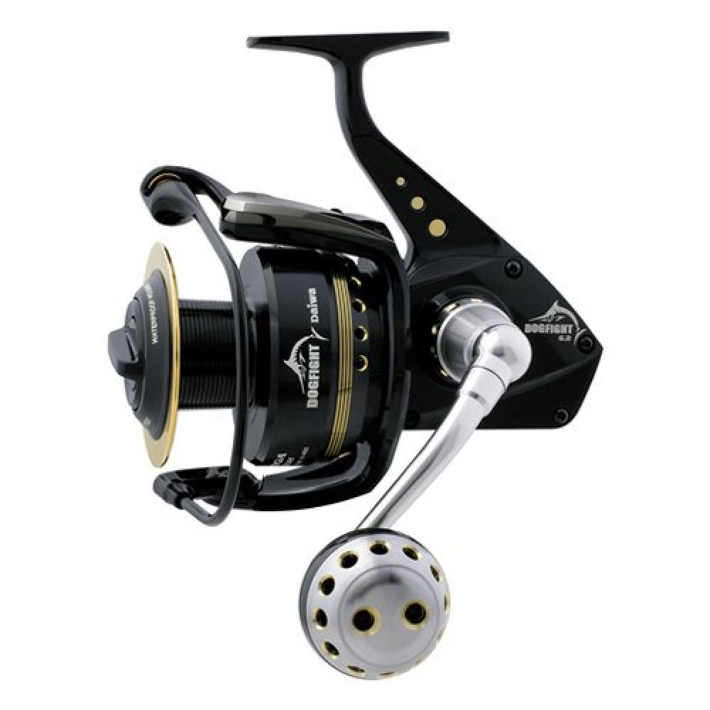 New great daiwa saltiga dog fight spinning fishing reel sa for Daiwa fishing reels