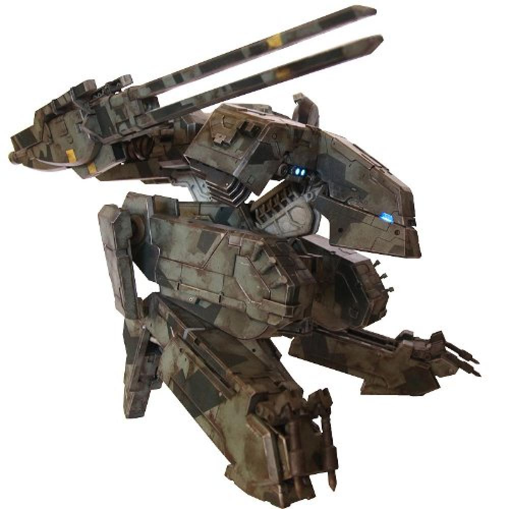 Gears Used In Toys : Brand new mib rare a threea metal gear solid mg rex from