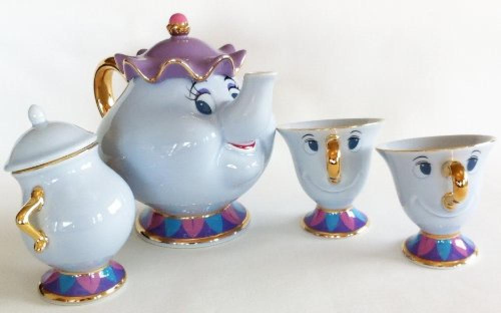 Disney Beauty And The Beast And Chip Tea Cup And