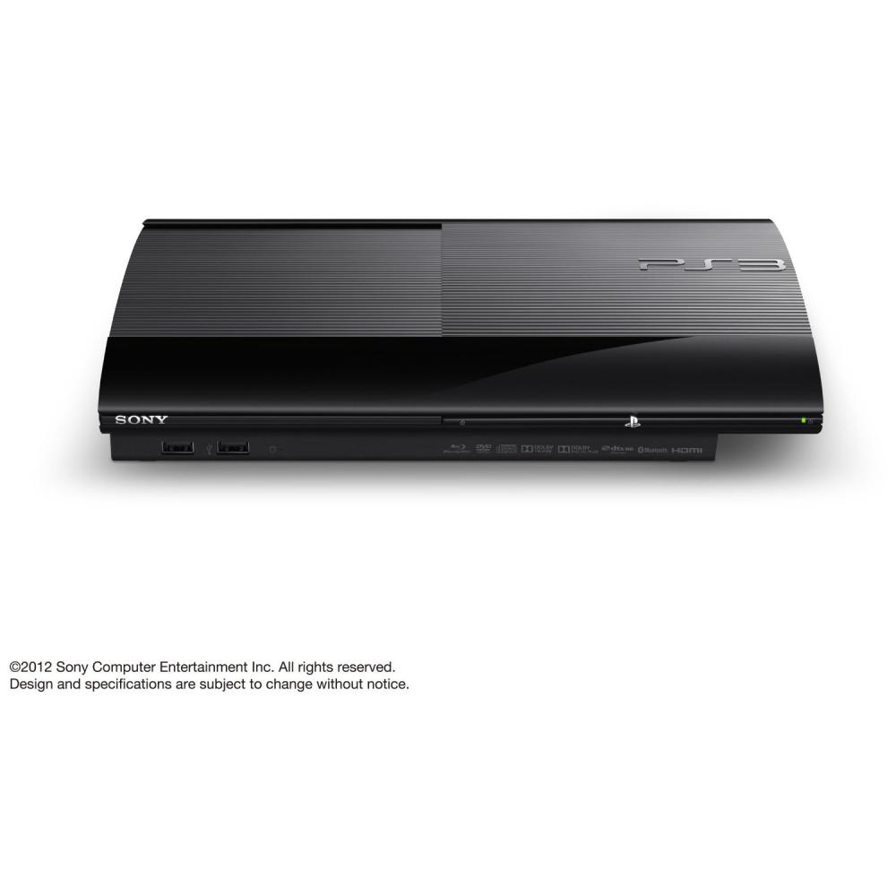 Free Ps3 Console: Sony PlayStation 3 PS3 Super Slim CECH-4000C Black 500GB