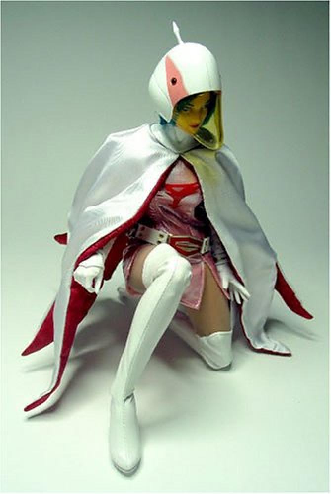 Gatchaman Jun Figure & G-Force Battle of the Planets Costume - Pics about space
