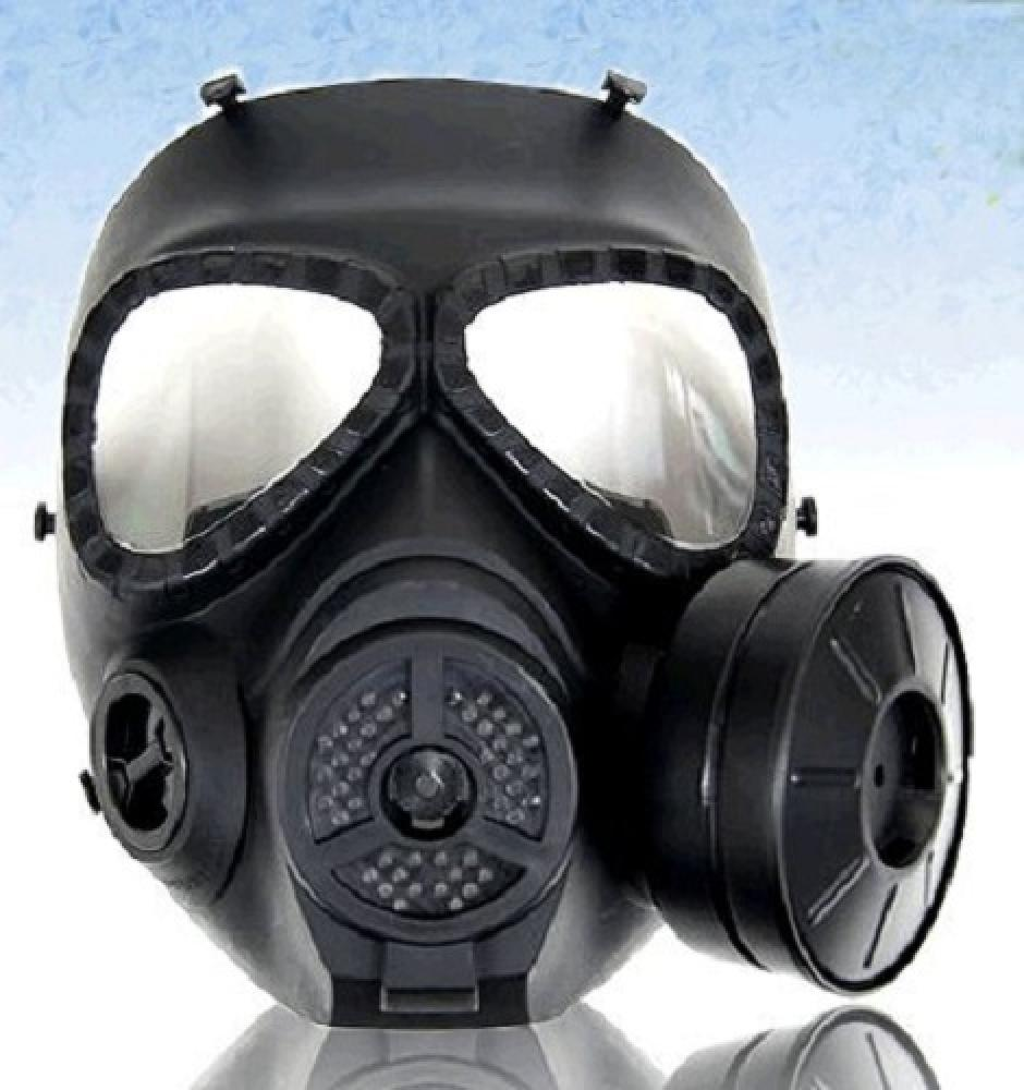 M04 full-face gas mask goggles type BK [with anti-fog Fan