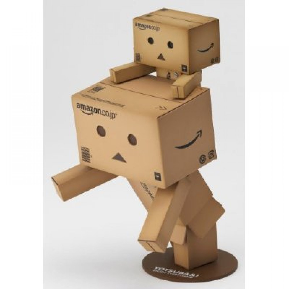danboard big mini amazon box ver revoltech danbo kaiyodo yotsuba japan ebay. Black Bedroom Furniture Sets. Home Design Ideas