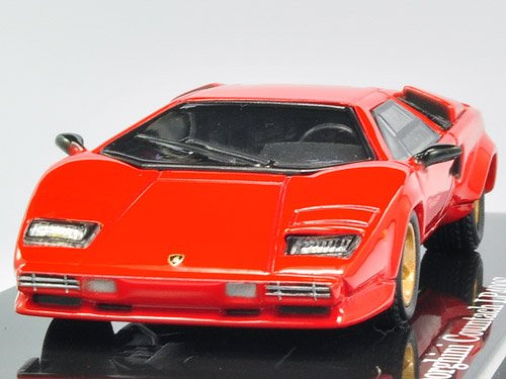 nib kyosho 1 64 lamborghini countach lp400s 1of 999 red ltd japan. Black Bedroom Furniture Sets. Home Design Ideas