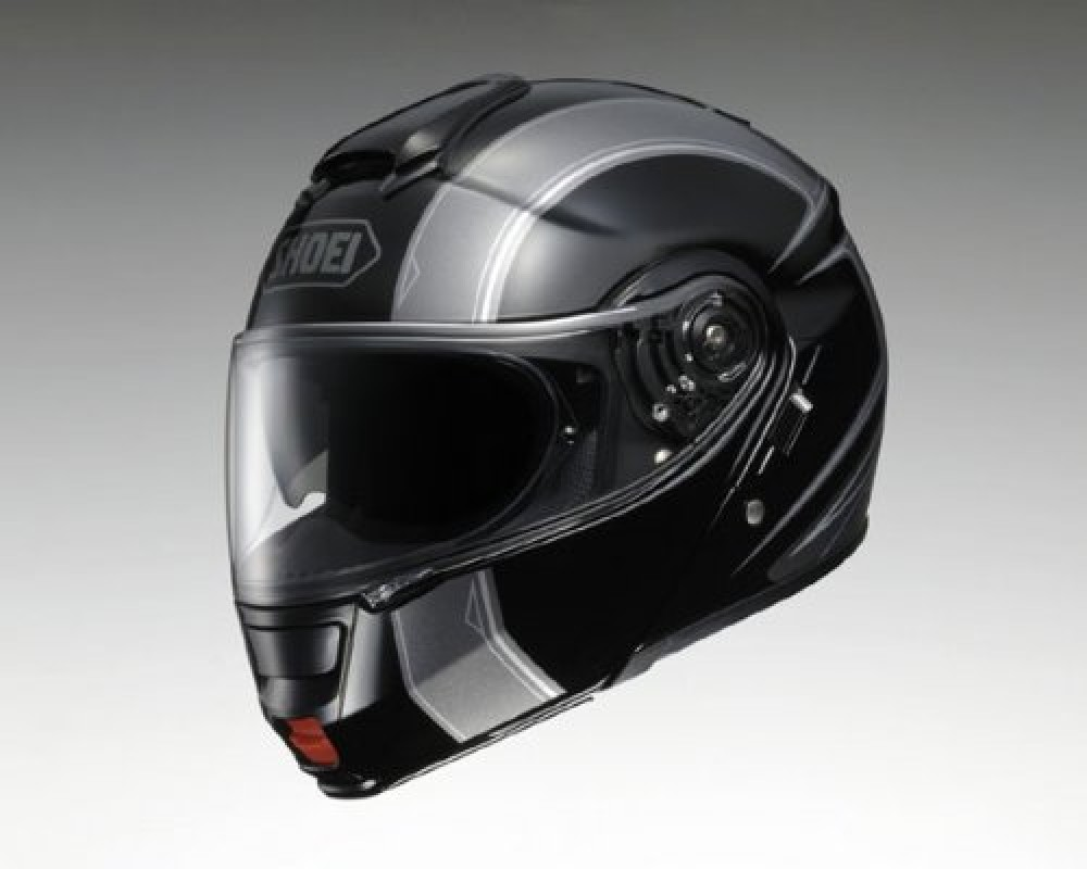 brand new shoei neotec borealis tc 5 black silver full faced helmet japan ebay. Black Bedroom Furniture Sets. Home Design Ideas