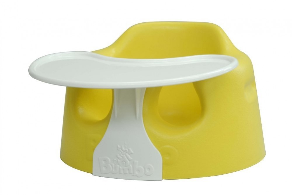 new bumbo floor seat tray yellow blue best price great deal for baby nib ebay. Black Bedroom Furniture Sets. Home Design Ideas