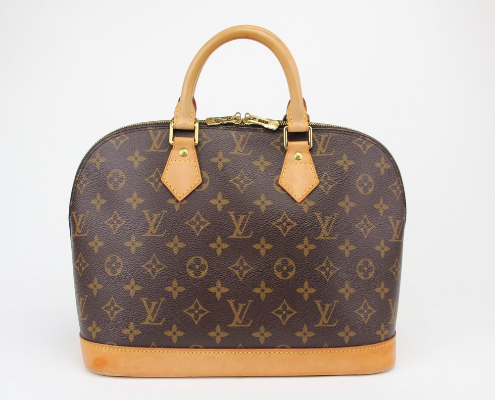 authentic louis vuitton monogram alma bag m51130 lv