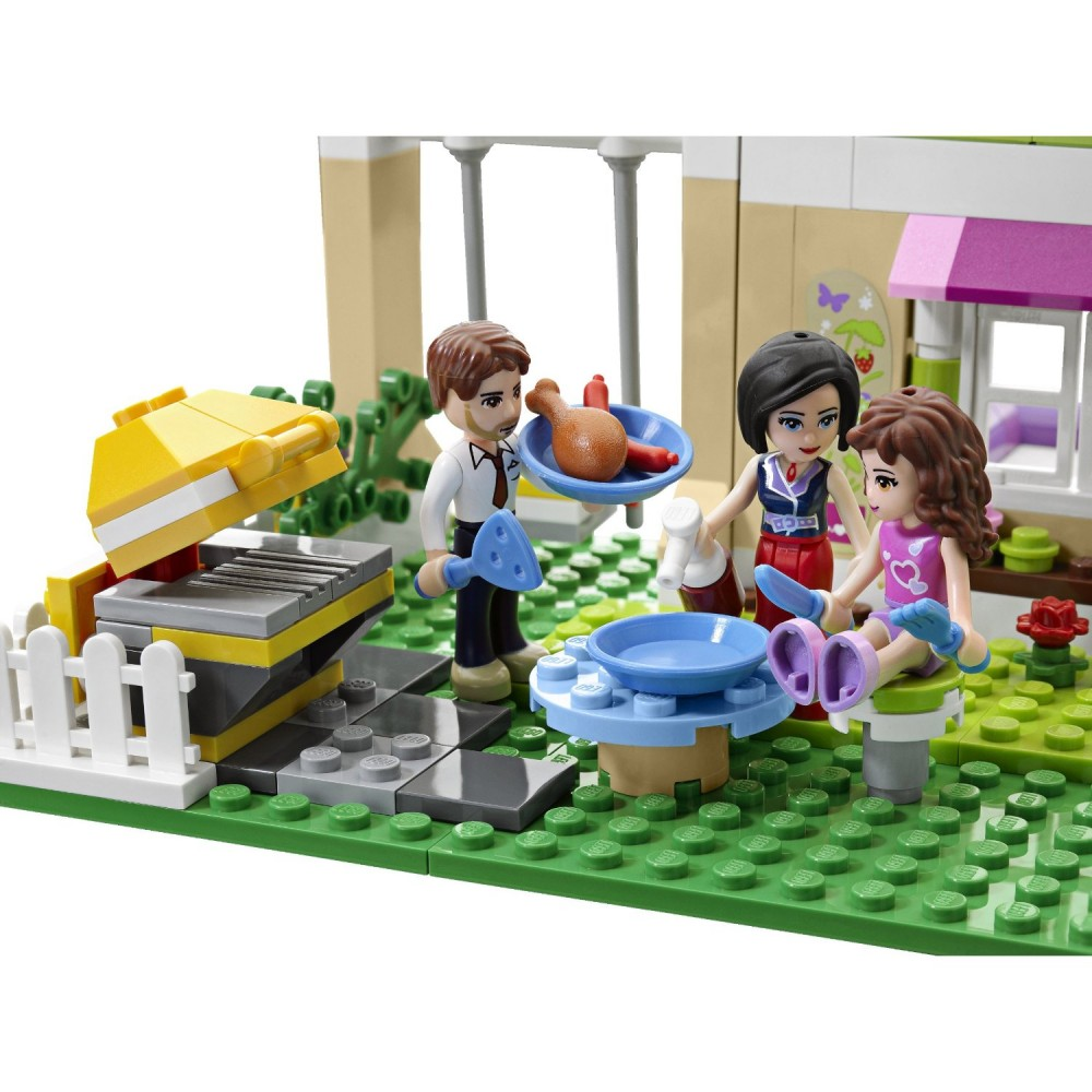 lego friends lovely house 3315 mini doll figures play. Black Bedroom Furniture Sets. Home Design Ideas