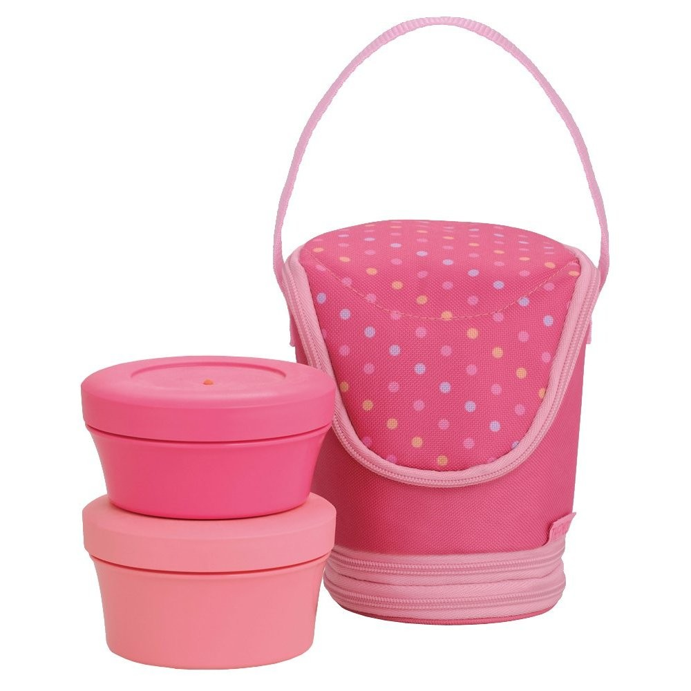 ... THERMOS Fresh Food Container Lunch Box DJI-500 BENTO Bag Japan Pink
