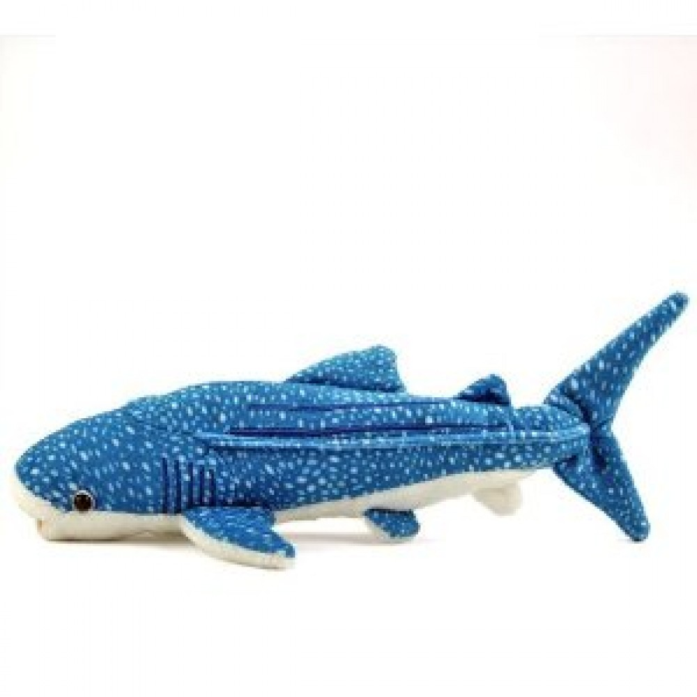 New karorata real stuffed whale shark size s free shipping for Life size shark plush