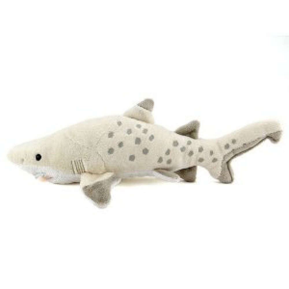 New karorata colorata stuffed sand tiger shark size s free for Life size shark plush