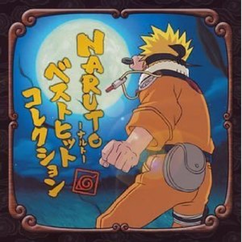 NARUTO-Naruto-Best Hit Collection F/S from Japan