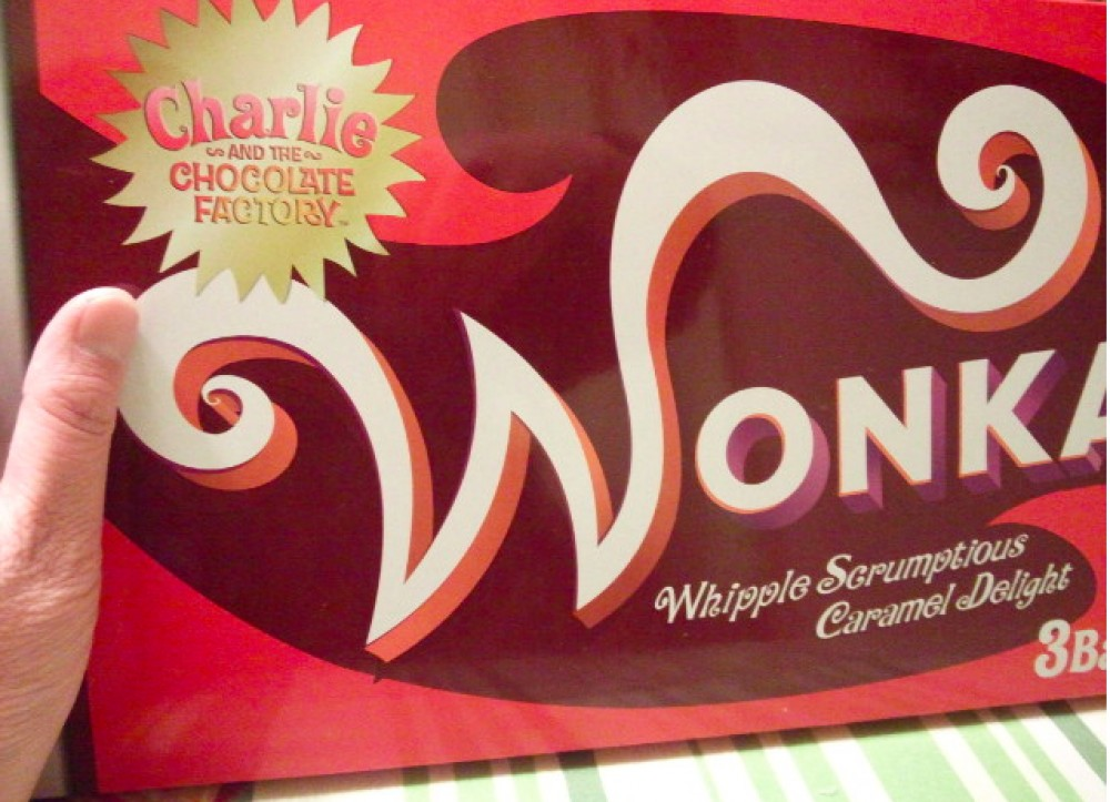 Willy Wonka Chocolate Special Package from Japan 3 bars included Rare