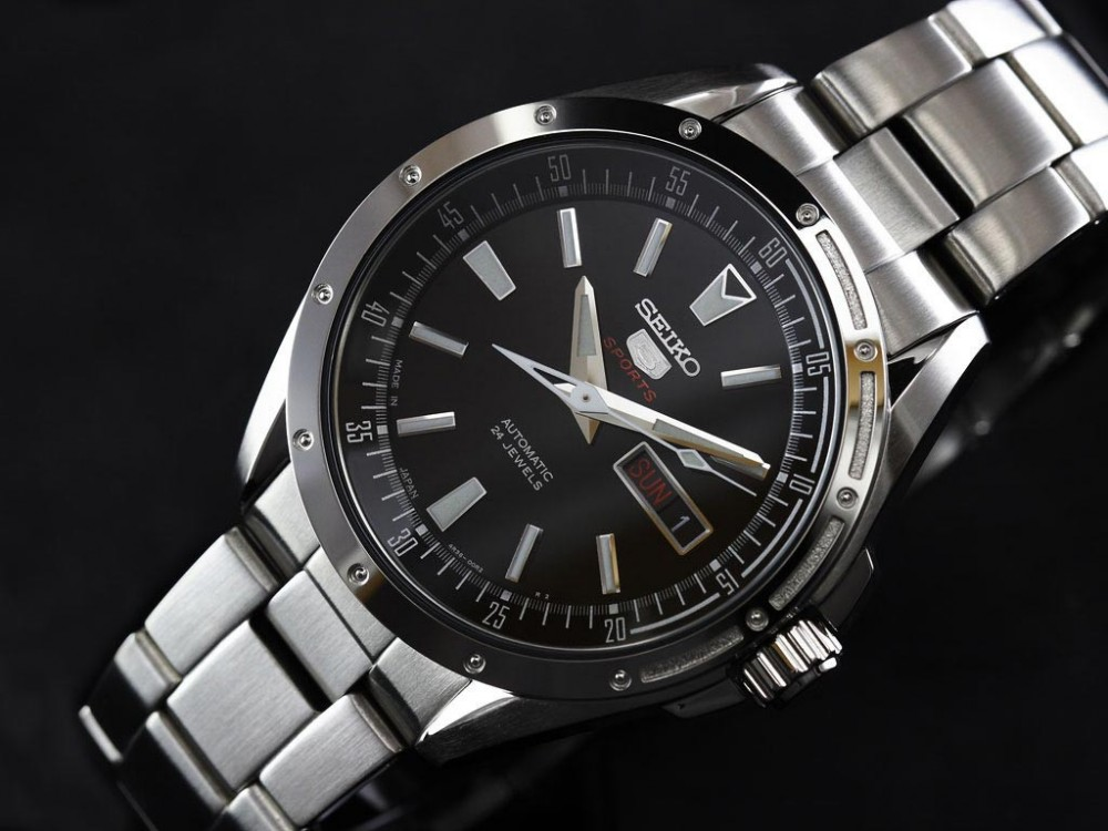 f s new seiko 5 sports mechanical automatic watch sarz005. Black Bedroom Furniture Sets. Home Design Ideas