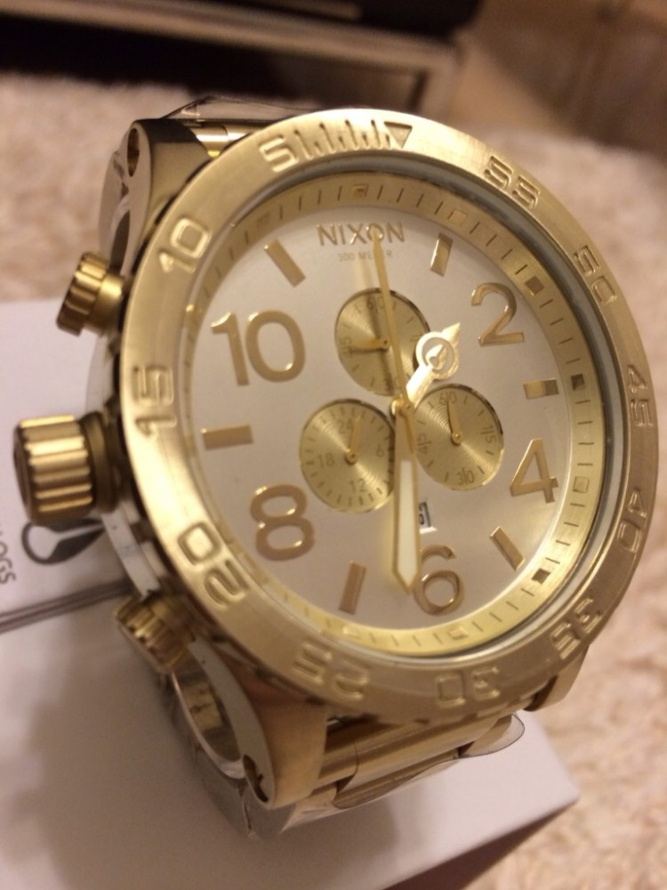 nixon 48 20 chrono manual