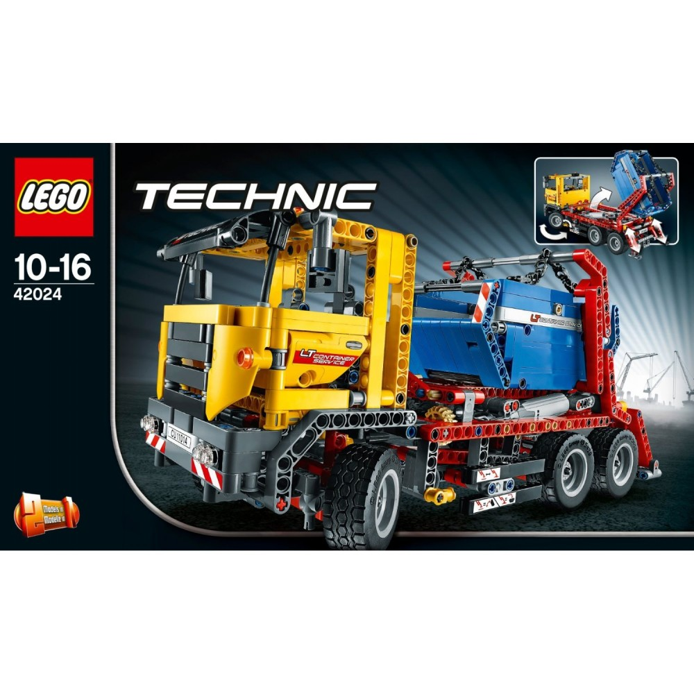 lego technic 42024 container truck from japan new ebay. Black Bedroom Furniture Sets. Home Design Ideas