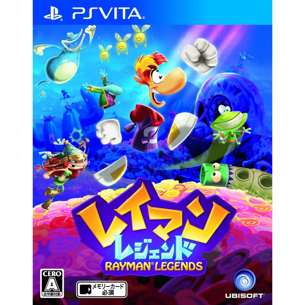 New PS Vita Rayman Legends Japan Import  eBay