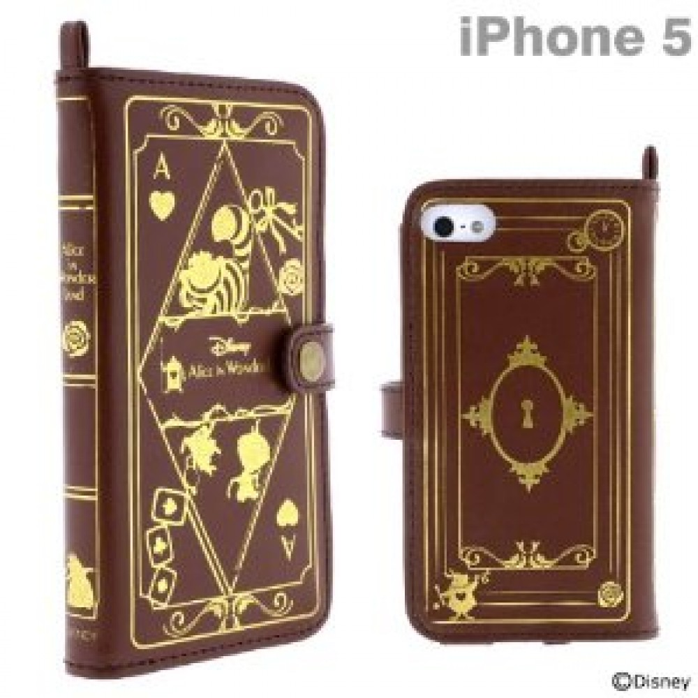 Old Book Case For Iphone : New disney character old book case for iphone alice in