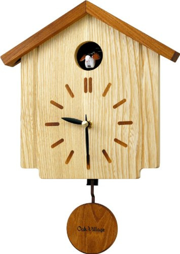 New oak village wall clock cuckoo woody ornament pendulum 4mj898ak06 from japan ebay - Cuckoo pendulum wall clock ...