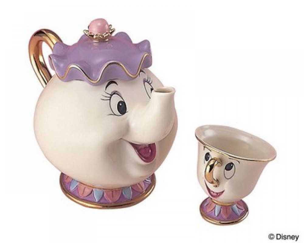 Beauty And The Beast Chip Cup Disney Beauty a...