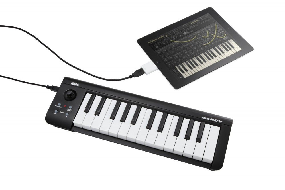 new korg usb midi keyboard microkey 25 black white japan ebay. Black Bedroom Furniture Sets. Home Design Ideas