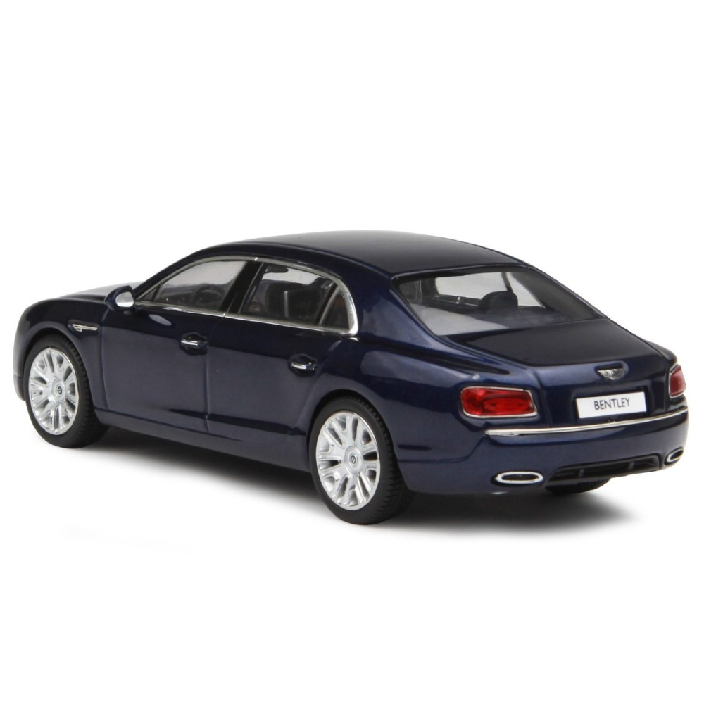 Bentley Flying Spur W12: Kyosho 1/43 Bentley Flying Spur W12 Peacok Dark Blue New