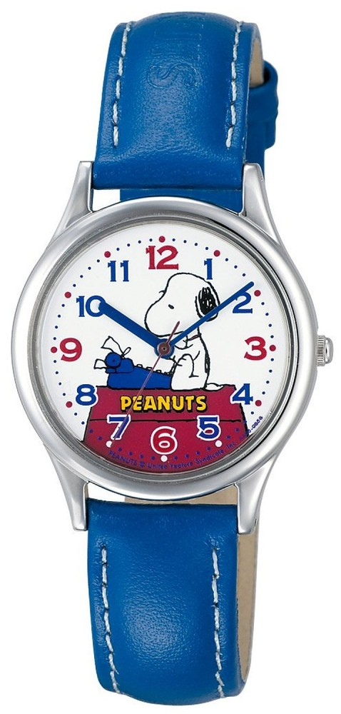 Citizen q q watch peanuts snoopy character watch blue aa95 9853 ladies ebay for Snoopy watches
