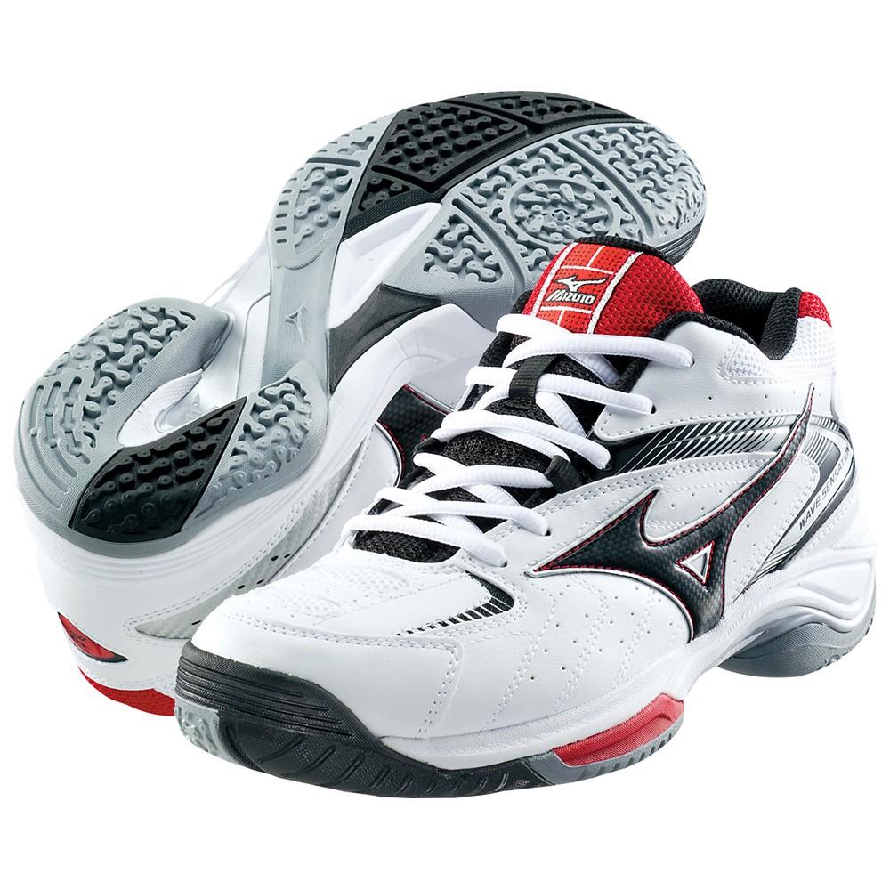 mizuno tennis shoes wave sensation 2 6kd320 white x black
