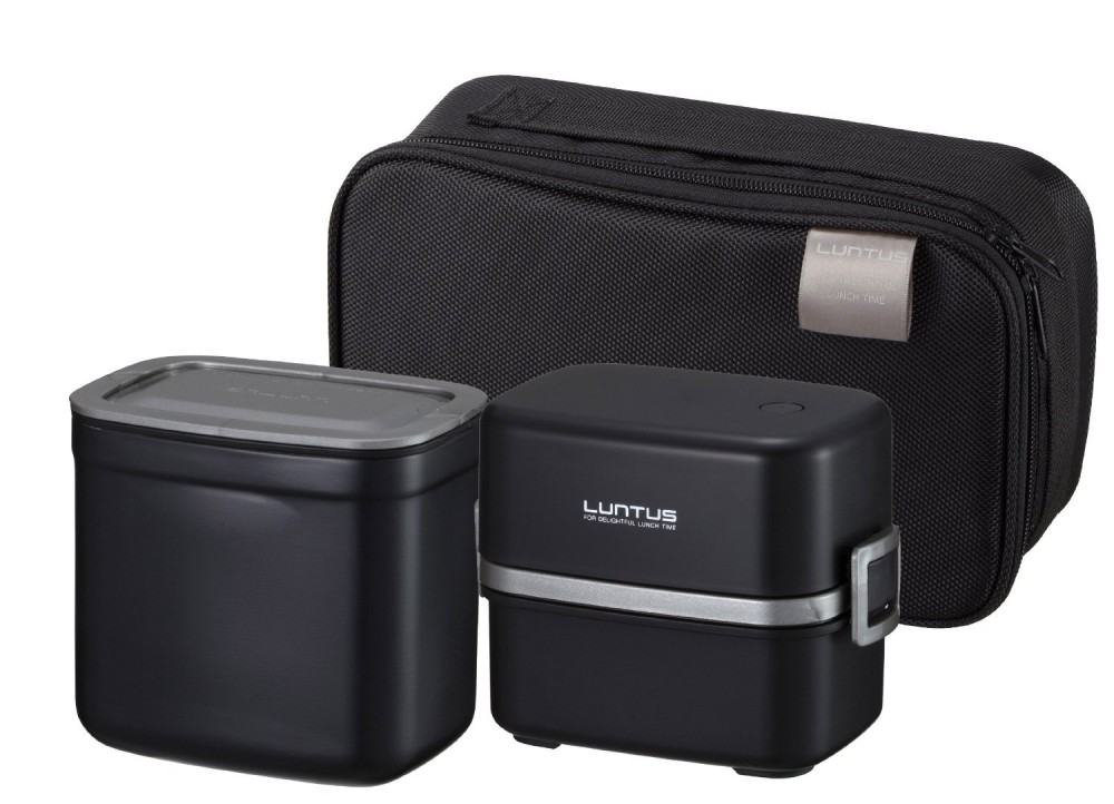 japanese luntus stainless lunch box keep bento hlb t850 warm from japan f s. Black Bedroom Furniture Sets. Home Design Ideas