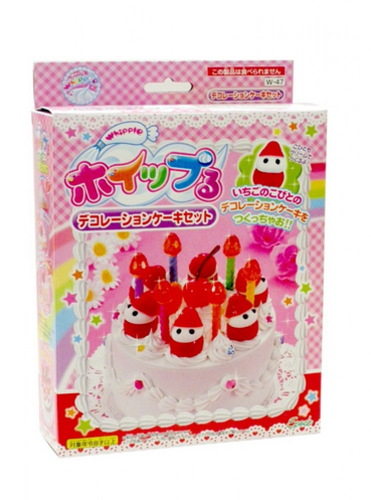Cake Decoration At Home Without Cream : DIY Whipple Cream DIY Kit Cake decoration set W-47 From Japan