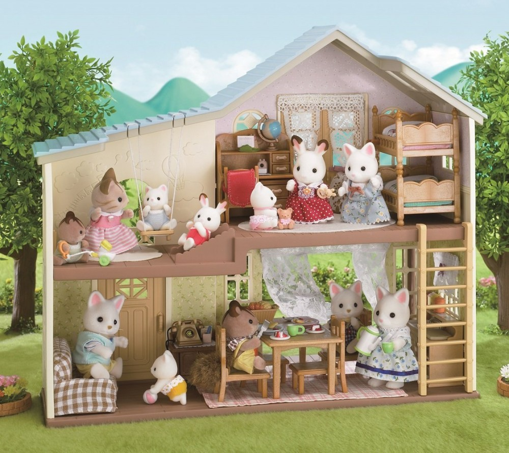 Pics Photos Sylvanian Families House On The Hill