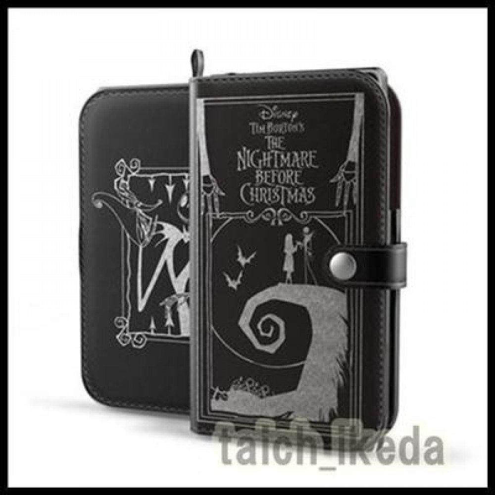 Old Book Phone Case ~ New nightmare before christmas old book leather case for