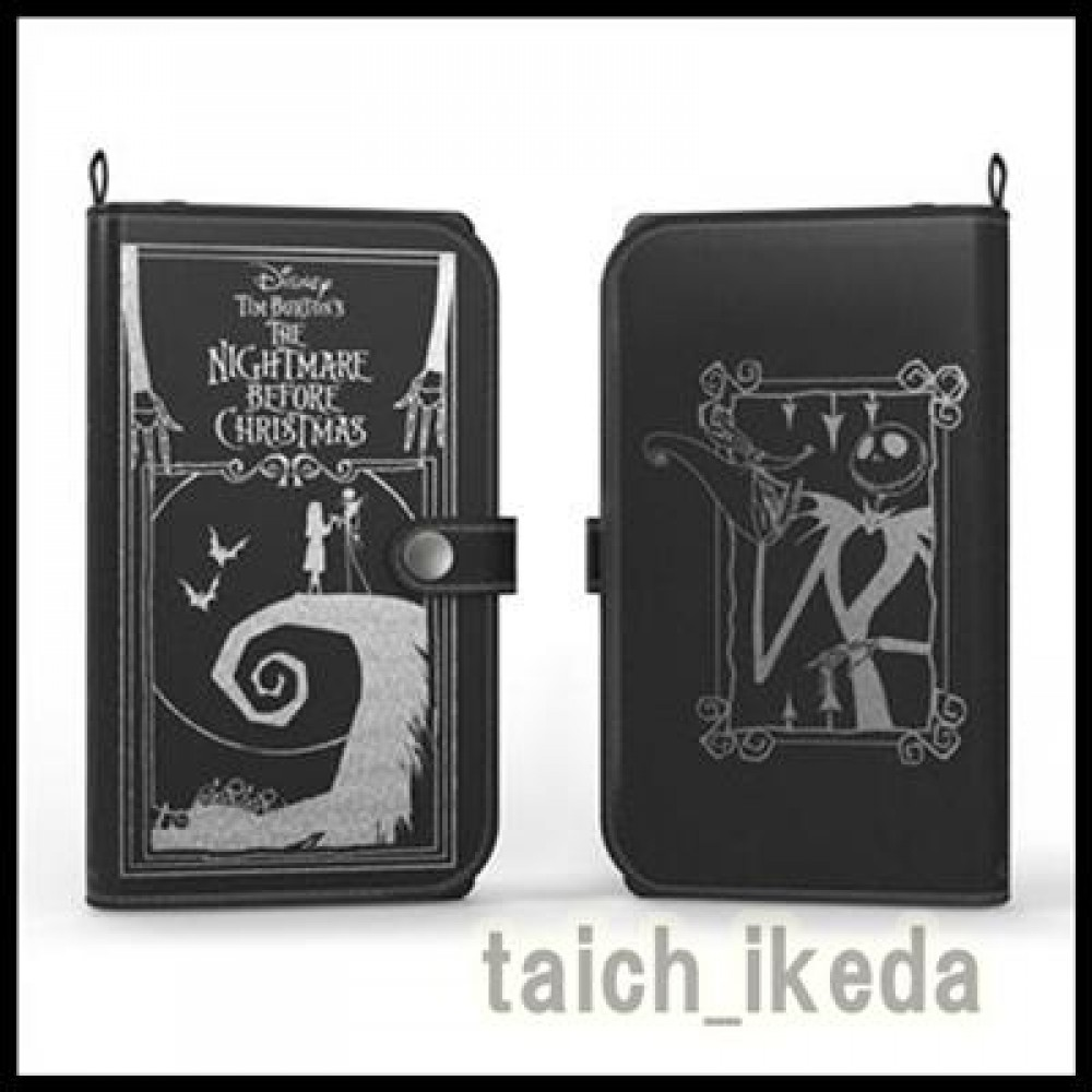 Old Book Case Disney Iphone ~ New nightmare before christmas old book leather case for