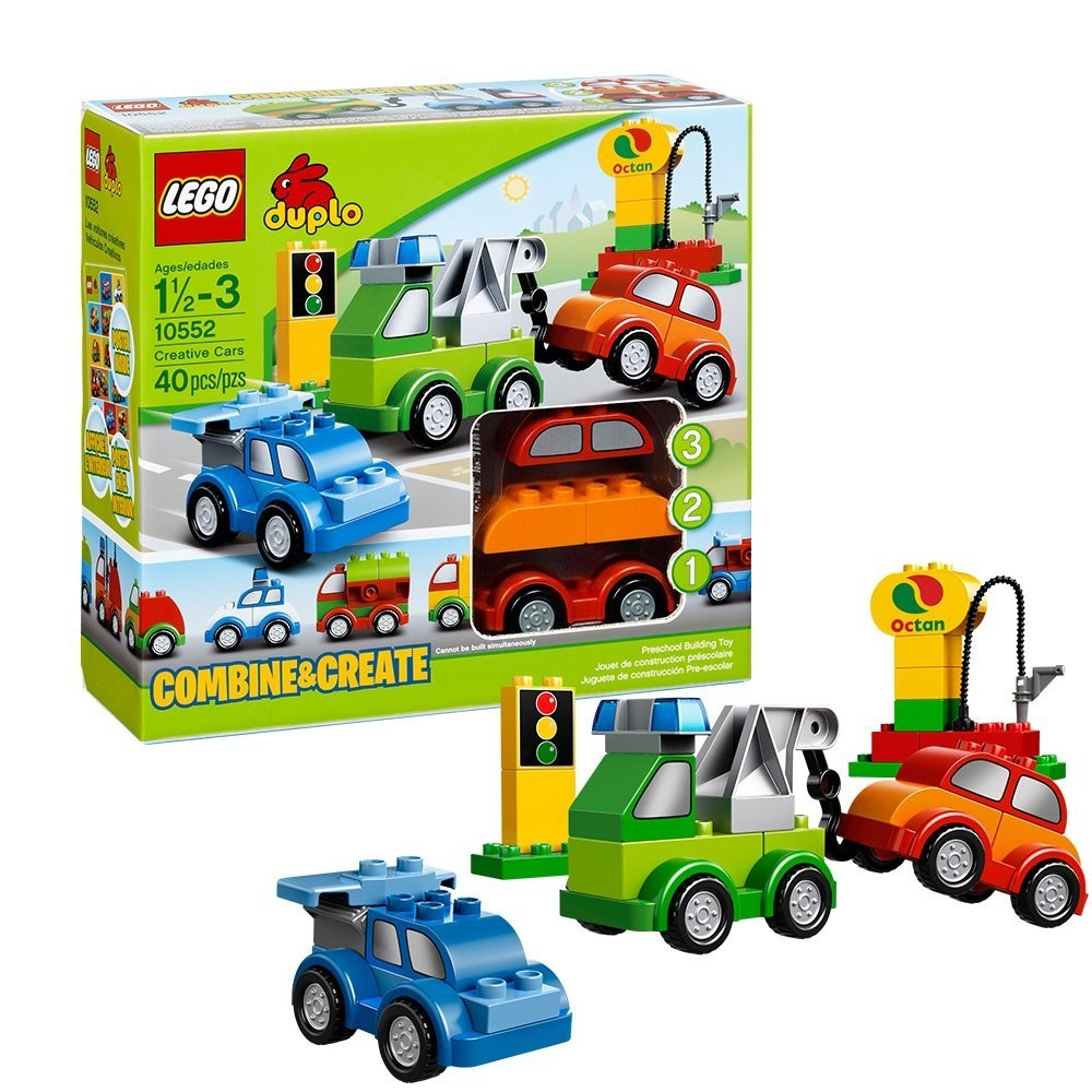 Brand New Lego Duplo Creative Cars 10552 Bricks Ages 1 1