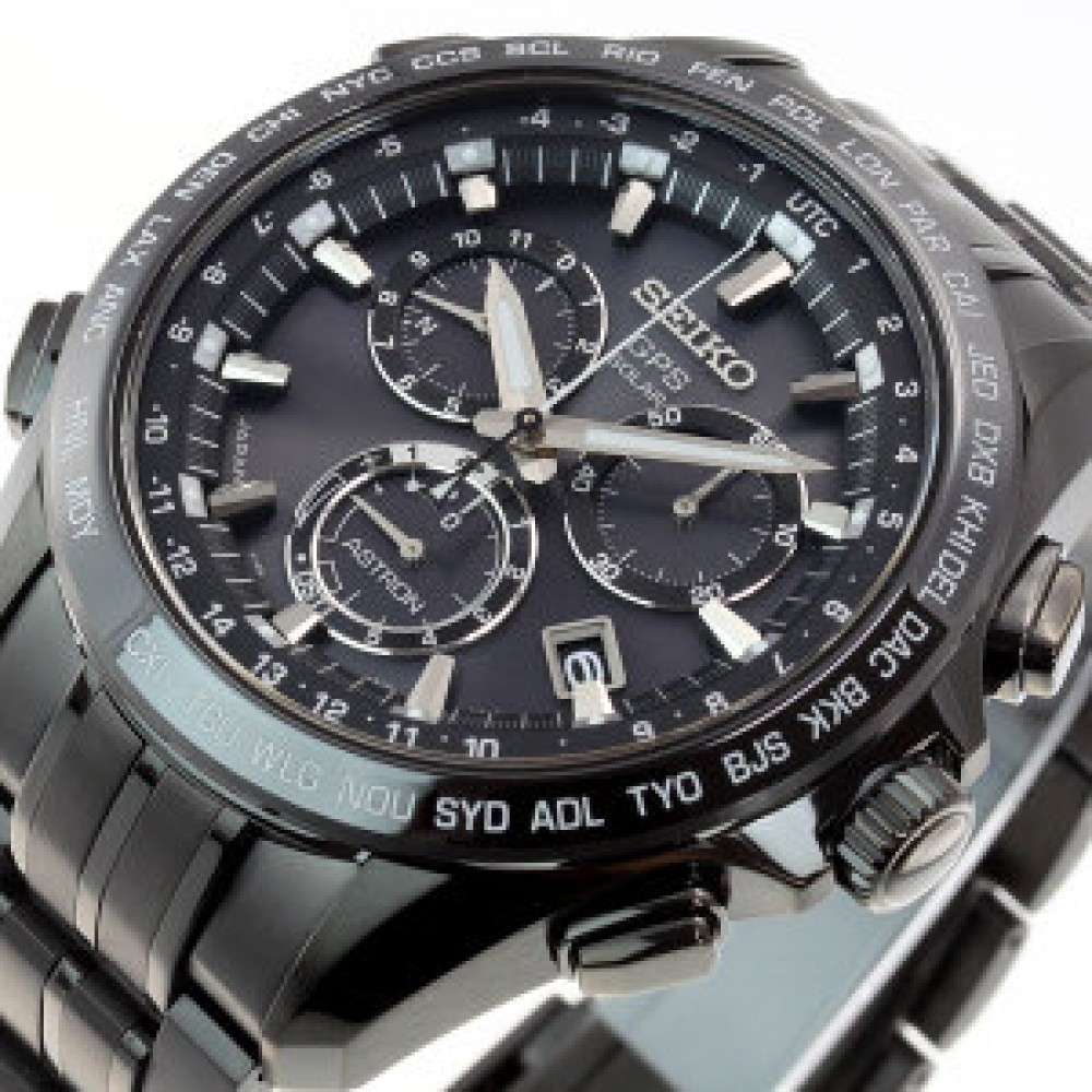 seiko astron gps solar radio controlled watch sbxb009 sapphire glass f s japan ebay. Black Bedroom Furniture Sets. Home Design Ideas