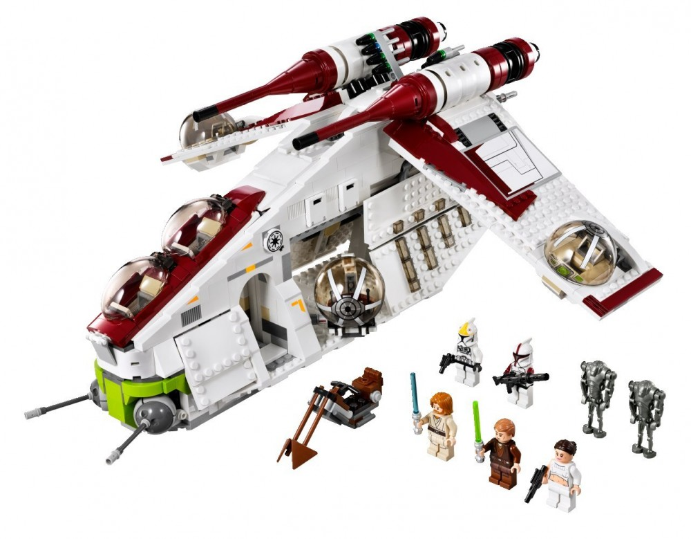 star wars republic gunship tm 75021 lego ebay. Black Bedroom Furniture Sets. Home Design Ideas