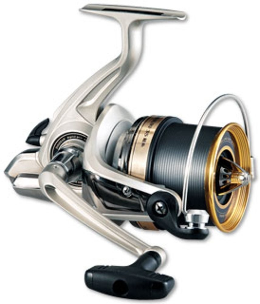 New daiwa 2010 fine surf 35 filament line spinning reel for Fishing line on reel