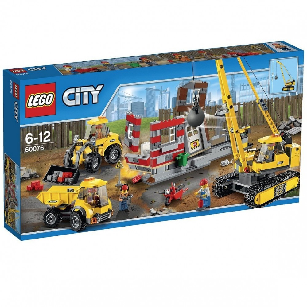 Lego Building Toys : New lego city building demolition site toys
