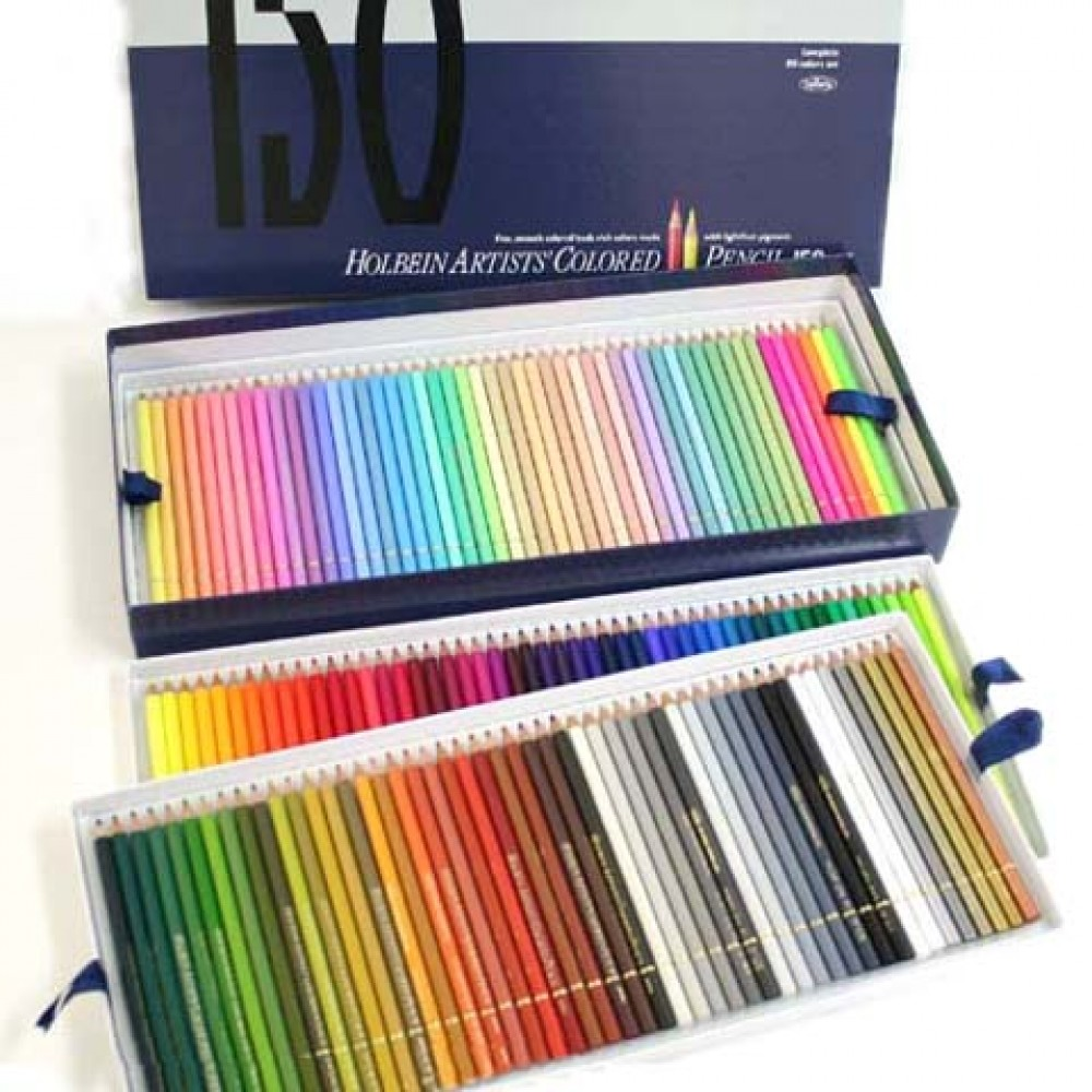 Color art colored pencils - New Holbein Artists Colored Pencil 150 Colors From Japan