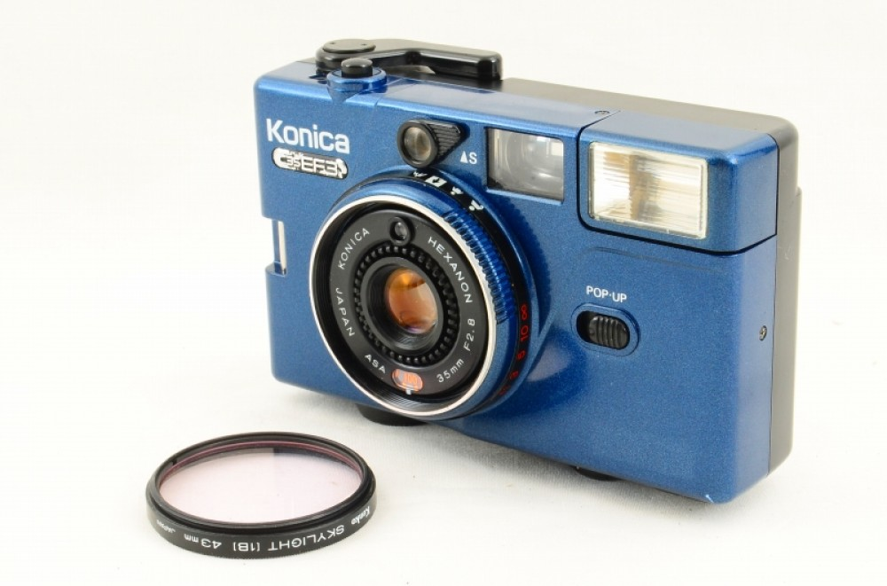 Konica C35 FD Auto S3 with Hexanon 38mm F1 8 Lens from