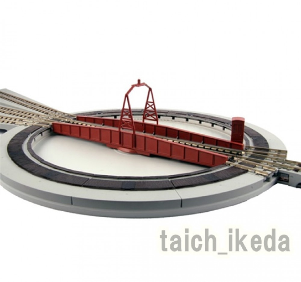 kato n scale 20 283 unitrack electric turntable from japan ebay. Black Bedroom Furniture Sets. Home Design Ideas
