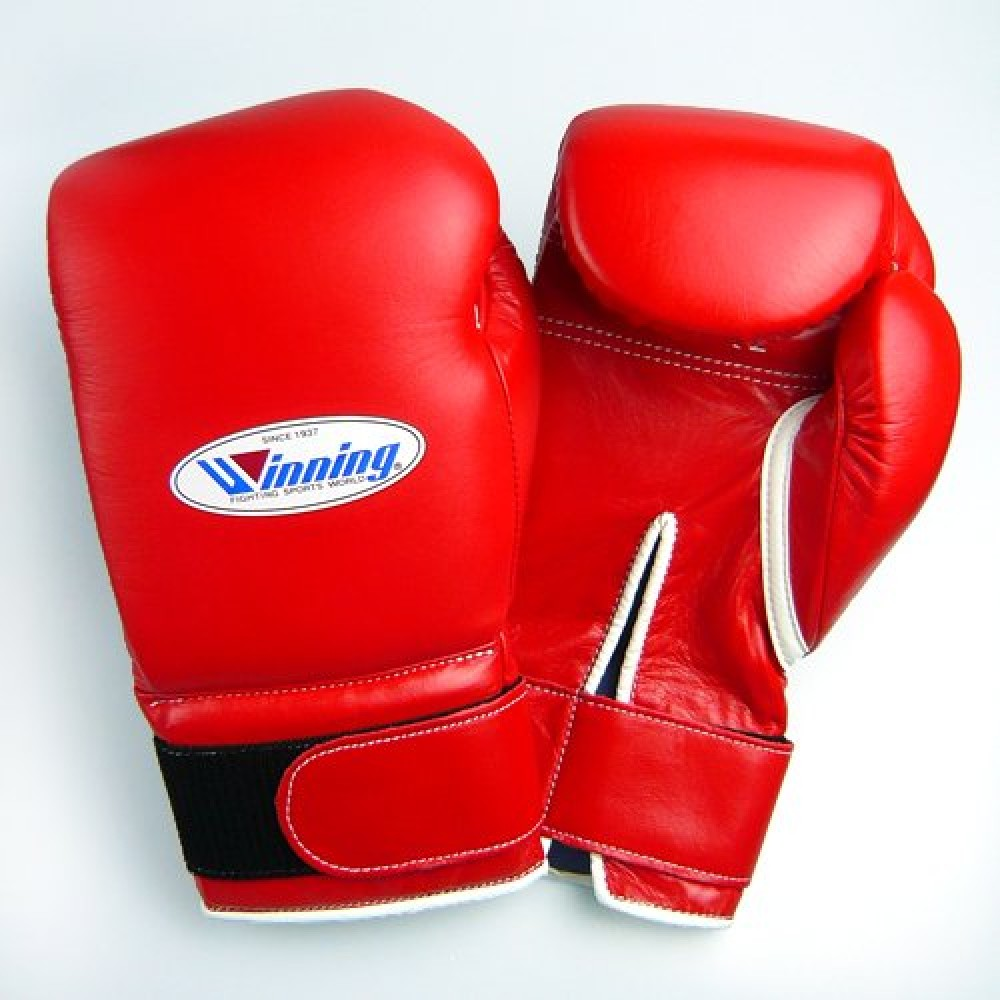 Boking Gloves: Winning Training Boxing Gloves 10 Oz Pro Type Velcro MS