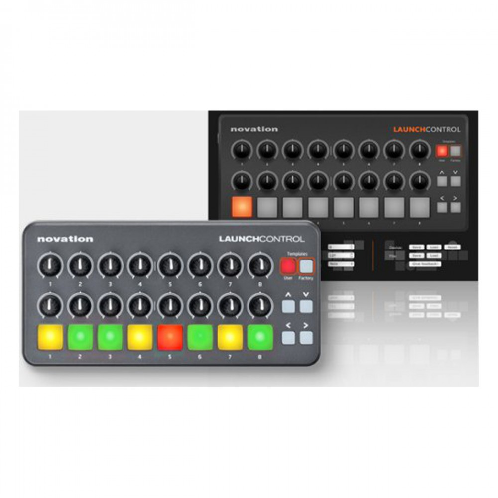 new novation launch control portable usb midi controller. Black Bedroom Furniture Sets. Home Design Ideas