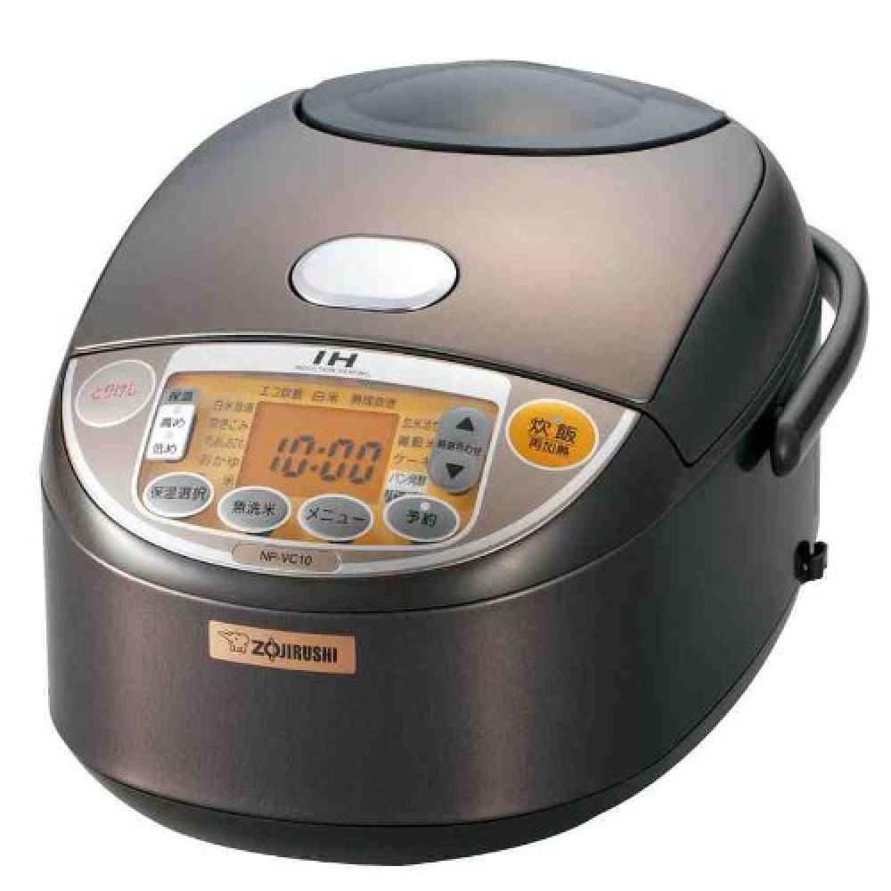 ZOJIRUSHI NP RX05 TD IH Rice cooker 3go Dark brown Fast Shipping From Japan EMS