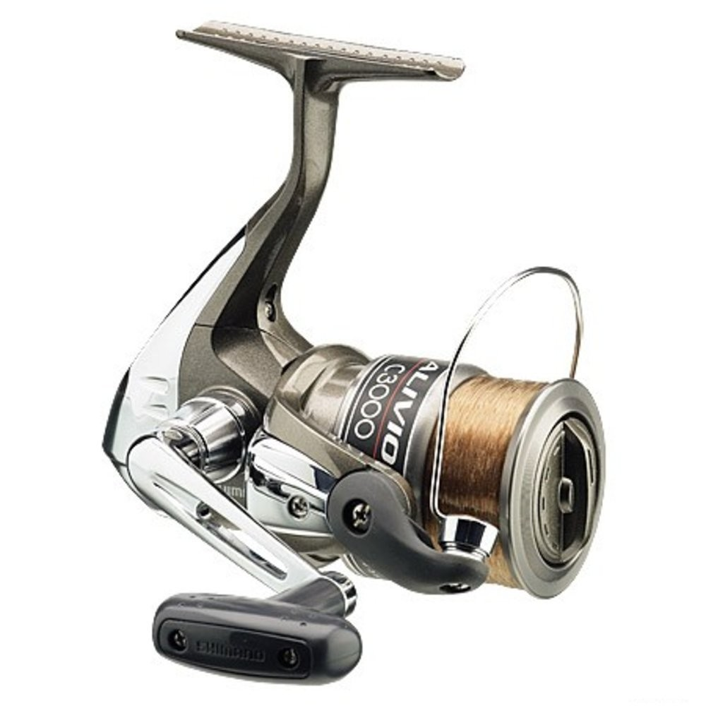 shimano fishing spinning reel alivio 4000 with no 2