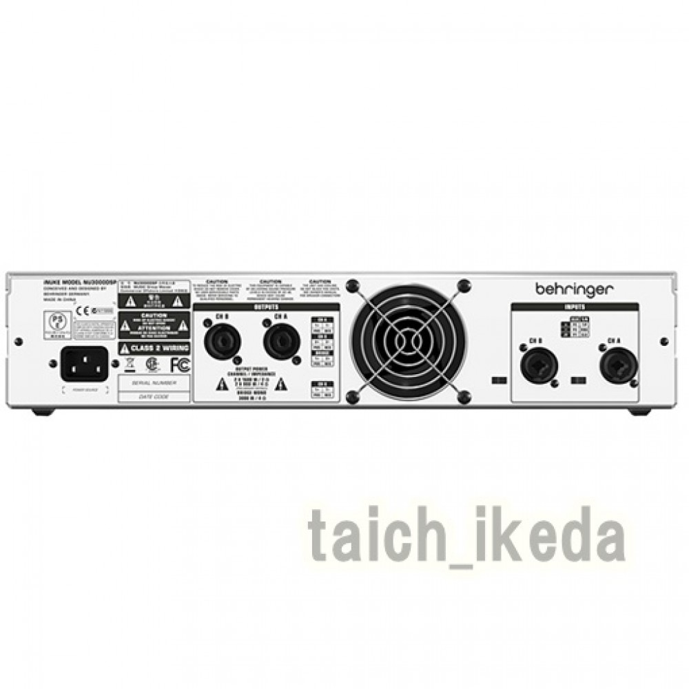 new behringer inuke nu3000dsp power amp 3000 watts dsp usb