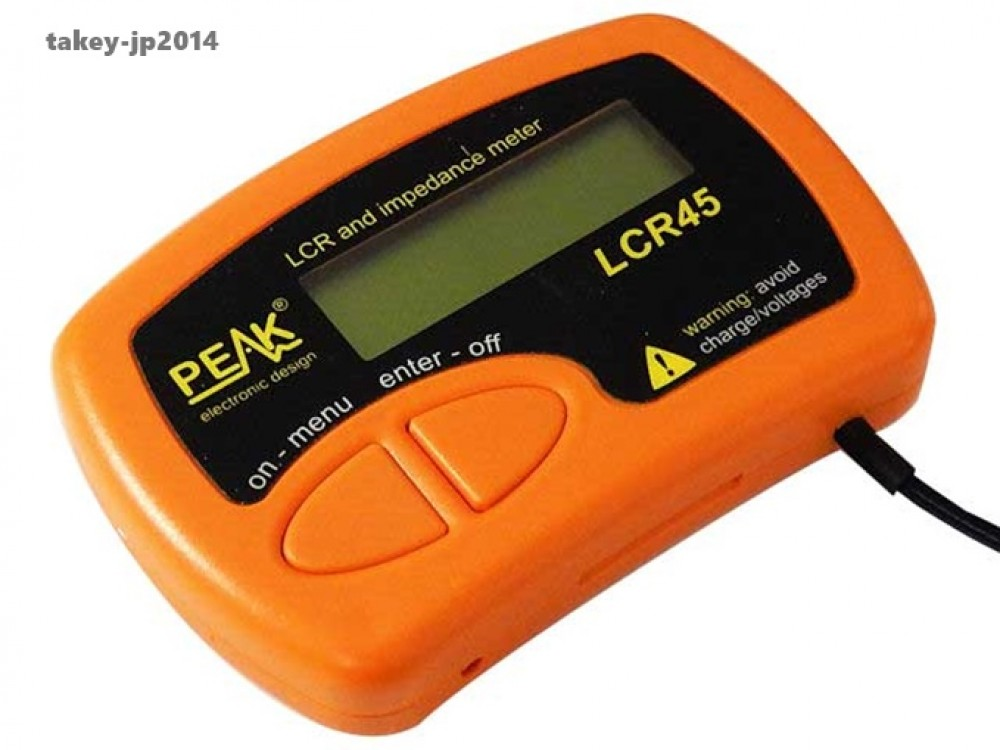Lcr Impedance Meter : New peak lcr and impedance meter from japan free
