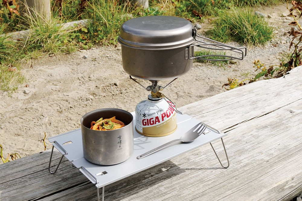 Cooker For Snowmobile ~ Snow peak titanium personal cooker skillet frying pan sct