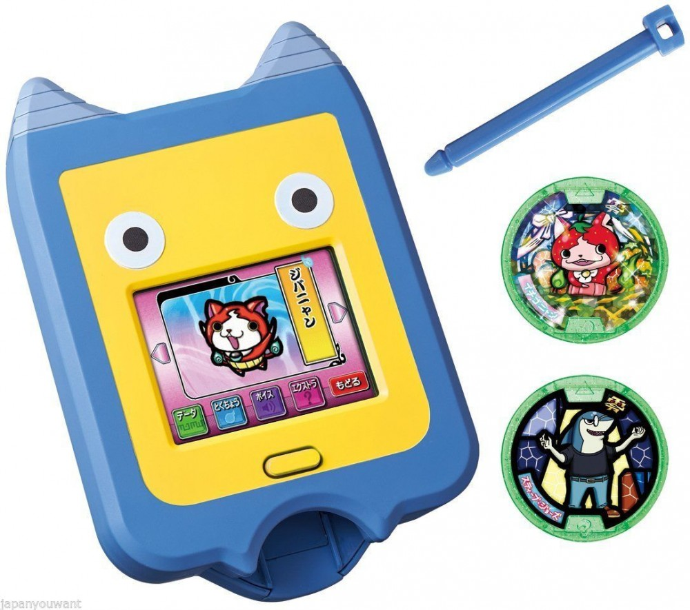New yo kai watch yo kai pad medals bandai japan youkai for Decoration yo kai watch