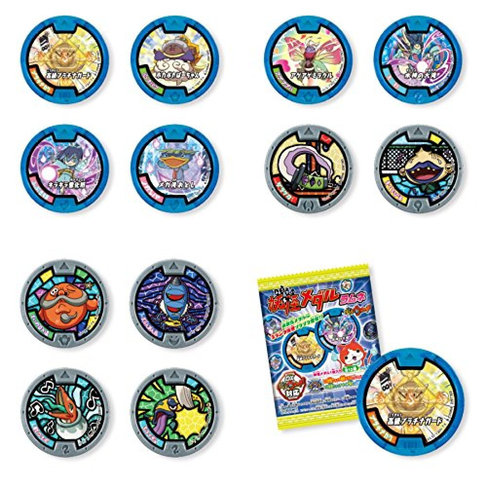 New yo kai watch soda pop box lamennais medal bandai japan for Decoration yo kai watch